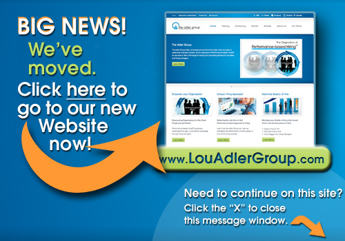 Go to our new website LouAdlerGroup.com