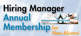 Hiring Manager eLC Annual Membership