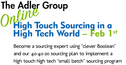 High Touch Sourcing