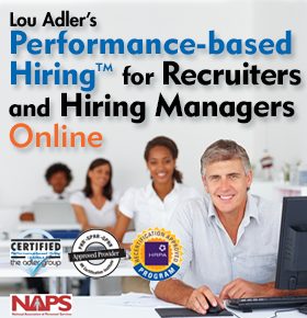 Performance-based Hiring (TM) for Recruiters and Hiring Managers
