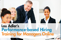 Performance-based Hiring for Hiring Managers Online