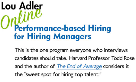 Performance-based Hiring for Managers