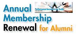 annual membership renewal