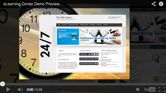 eLearning Center Demo Video